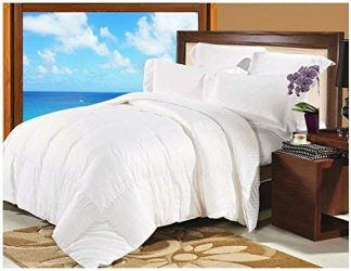 Natural Comfort Soft and Luxurious 300TC Sateen White Down Alternative Duvet Insert, Twin
