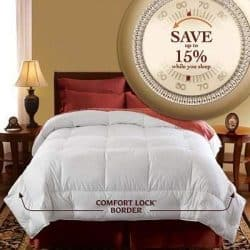"Pacific Coast: European Down Comforter - Full/Queen 90"" x 98"""